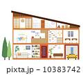 家の間取り 10383742