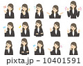 ビジネスウーマンのセット【アニメ風・シリーズ】 10401591