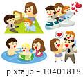 ピクニック お父さん 父のイラスト 10401818