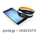 スマートバンドとスマートフォン 10422473
