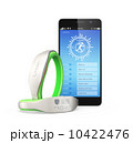 スマートバンドとスマートフォン 10422476