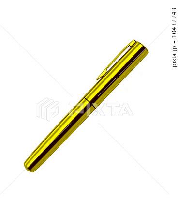 isolated metal ball pen on white backgroundの写真素材 [10432243] - PIXTA