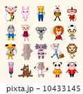 set of animal icons 10433145