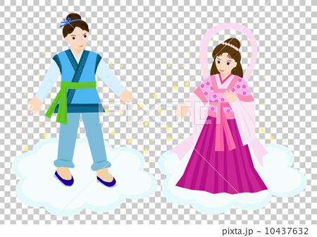 七夕/織姫と彦星 10437632