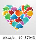 セリフ グラフィック 泡のイラスト 10457943