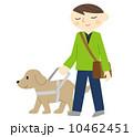 視覚障害者と盲導犬 10462451