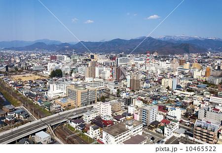 山形市の眺望の写真素材 [104655...