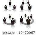 ベクター コミュニケーション ビジネスマンのイラスト 10470067