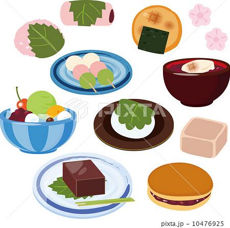 和菓子と和風のおやつ 10476925