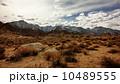 マウントホイットニー 03 ふもとの砂漠からの眺め 10489555