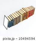 Series Of Books With Touch-Pad On The Head 3d Version 10494594
