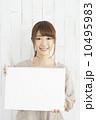 スケッチブック 女性 笑顔の写真 10495983