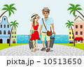 カップル 観光地 夏 10513650