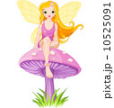 Cute Fairy on the Mushroom 10525091