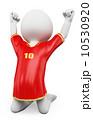 サッカー フットボール 蹴球のイラスト 10530920
