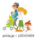家族 散歩 10543469