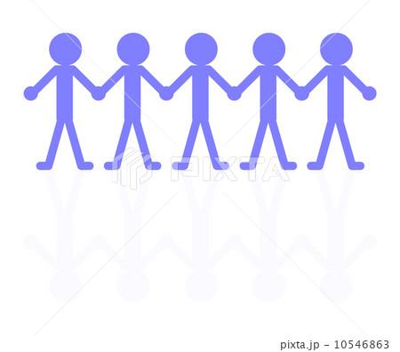 団結する人々 10546863