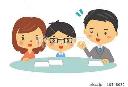 夫婦 テーブル 説明 案内 10548082