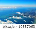 空撮 海 島の写真 10557063