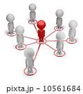 ネットワーク 通信 小型のイラスト 10561684