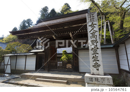 室生寺本坊の門 10564761