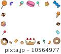 お菓子フレーム 10564977