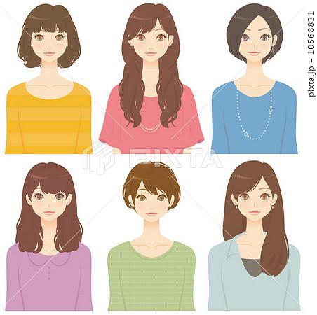 髪型 の写真素材・イラスト ...