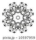 輪郭 黒色 黒のイラスト 10597959