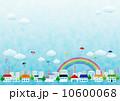 傘 空 雲のイラスト 10600068