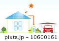 ソーラーパネル ベクター 太陽光発電のイラスト 10600161