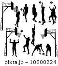 ゲーム 試合 バスケのイラスト 10600224