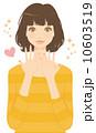 マニキュア ネイルアート 爪のイラスト 10603519