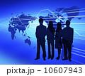 ビジネスイメージ 世界地図 ビジネスのイラスト 10607943