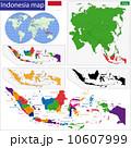 インドネシア 地域 アトラスのイラスト 10607999
