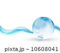 背景素材 背景 地球のイラスト 10608041