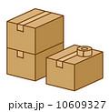 荷作り 梱包 箱のイラスト 10609327