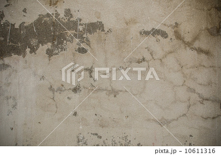 Close up old weathered white concrete wall texture 10611316
