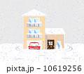 雪の積もった家 10619256