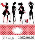 ファッション 女性 漫画のイラスト 10620080