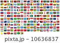 世界の国旗セット flags of the world 10636837