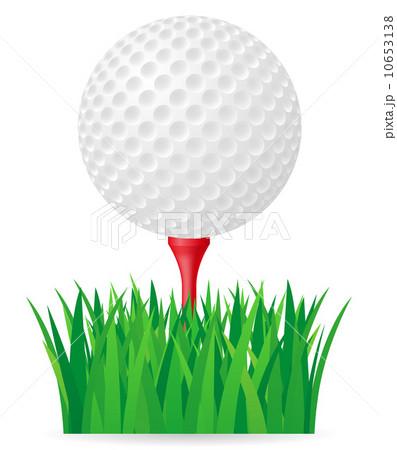 golf ball vector illustrationのイラスト素材 [10653138] - PIXTA