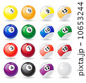 billiards balls vector illustration 10653244