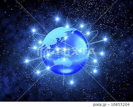 地球 ネットワークのイラスト素材 10655204 Pixta