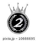 ローレル メダル 銀メダルのイラスト 10666695