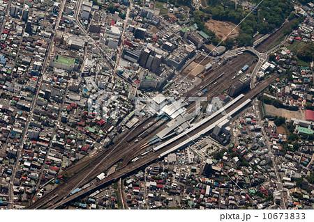 小田原駅を空撮 10673833