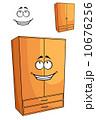 食器棚 戸棚 下駄箱のイラスト 10676256