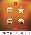 ベクトル 標識 看板のイラスト 10681221