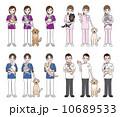 ベクター 獣医師 人物のイラスト 10689533