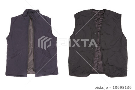 Two winter vests.の写真素材 [10698136] - PIXTA