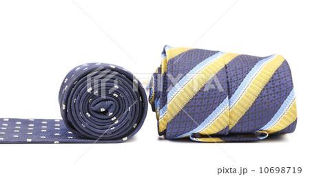 Close-up of rolled up neckties.の写真素材 [10698719] - PIXTA